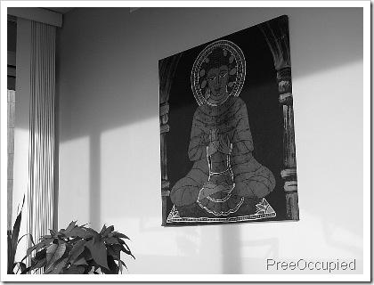 buddha bw