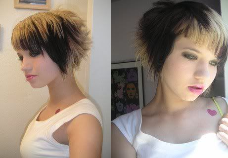 cute hairstyles for 2008. Funky Hairstyles Picture Cute