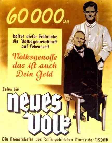 Propaganda de eutanasia nazi Aktion T4