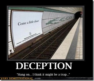 deception