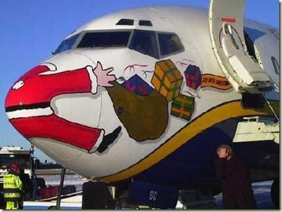 santa-hit-by-plane