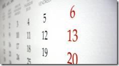 scadenzario, calendario