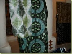 Mali tie dyed fabric