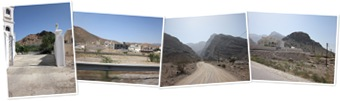 View Mountains in Oman