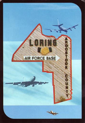 Loring Air Force Base. at Loring Air Force Base.