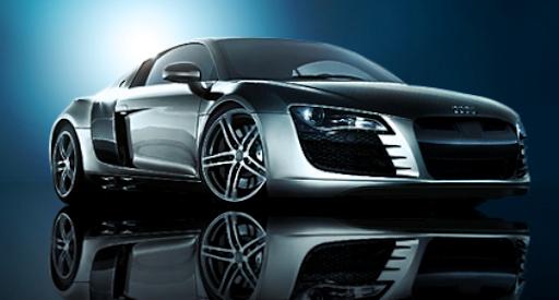 Audi R8 GTR PSD file