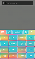 Screenshot of Keyboard Themes Color