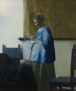 RIJKS: Johannes Vermeer: Woman Reading a Letter 1663