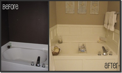 Bathroom Tub Makeovers thrifty like me: master bathroom: garden tub