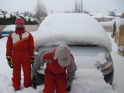 tempête de neige dans le sud ! dans Incroyable mais vrai !