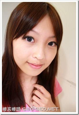 小堡【分享】配戴GEO三彩水鑽藍+天使藍