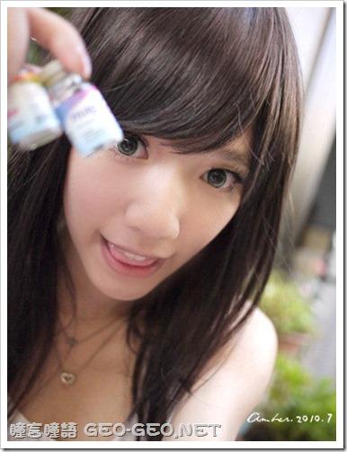芷菱分享GEO新款系列-NEW水凝櫻桃 蜜糖綠 小S巨目