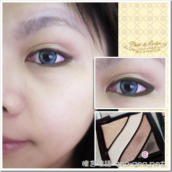 (放大片NEO太陽花灰)(假睫毛 sexy eye)(全頭假髮俏麗美少女桂綸鎂)-5