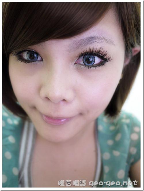 (放大片NEO太陽花灰)(假睫毛 sexy eye)(全頭假髮俏麗美少女桂綸鎂)-15