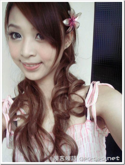 兔ㄦ分享♡水晶巨目灰♡日本雜誌大推小惡魔御用長髮大卷馬尾-假髮界中的LV