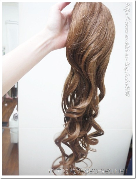 【PTC-03P】日本雜誌大推小惡魔御用長髮大卷馬尾抽繩式