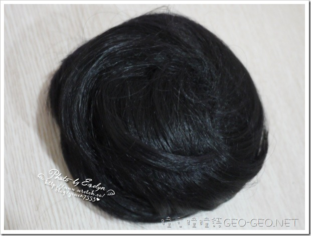 hanako日韓系小S立體包包頭丸子抽繩髮包