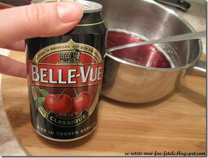 Cheesecake - pregatim siropul de bere cu visine