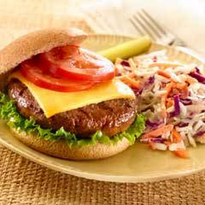Cheeseburgers With Coleslaw