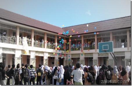 foto perayaan Labschool 2nd Anniversary