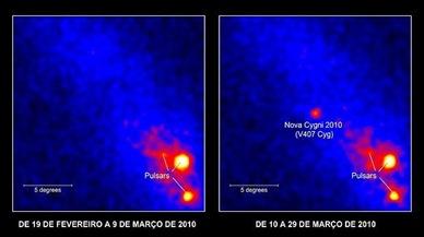 nova cygni 2010