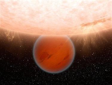 exoplaneta GJ 436b