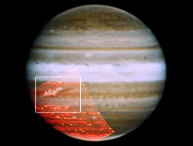 listra de Júpiter