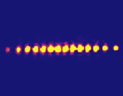 14 quantum bits