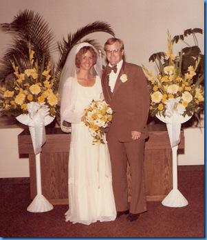 Wayne & Sandy McClay June 30, 1979-resized22