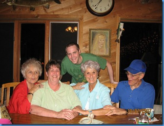 Vicki, Sandy, Linda, Mike & Chris Oct 07