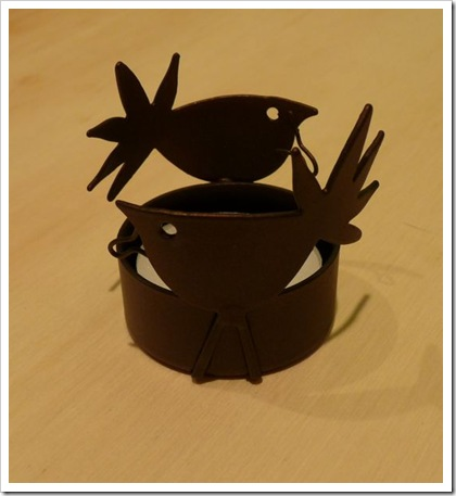 bird tea light