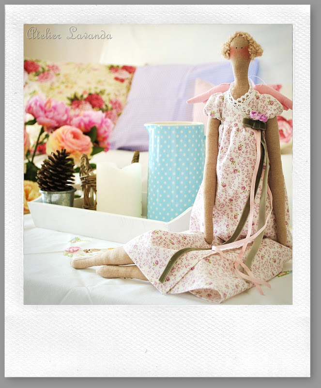 Atelier Lavanda sortea esta preciosa muñeca entre sus seguidores