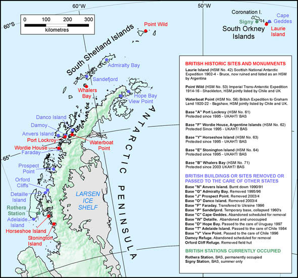 Dark Roasted Blend The Ghosts Of Antarctica Abandoned Stations - Antarctic research stations map