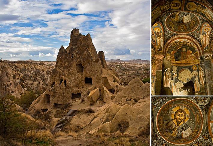 Пещерный монастирь ранних христиан.