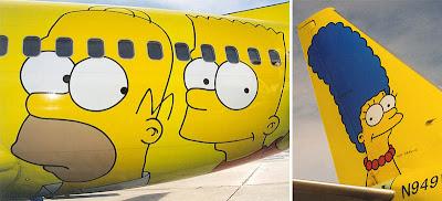 Simpsons Jet