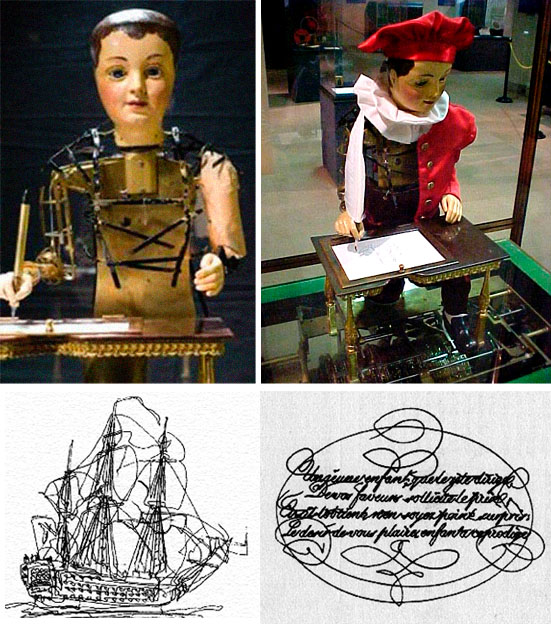 The Maillardet automaton