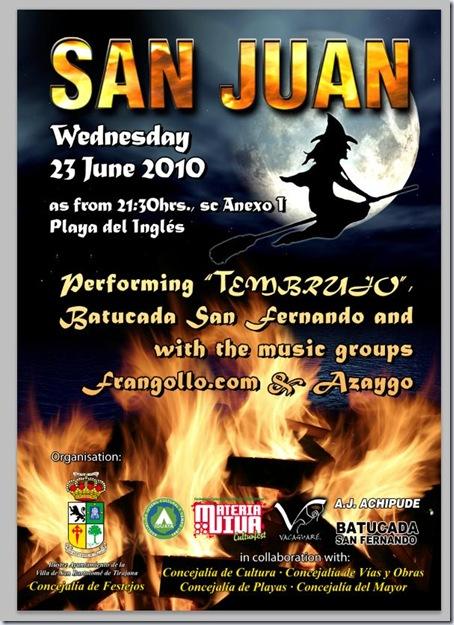 Noche de San Juan 2010 Playa del Inglés b