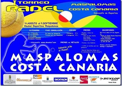 I Torneo de Padel Maspalomas Costa Canaria