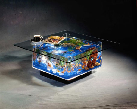 Fish Aquarium - Coffee Table