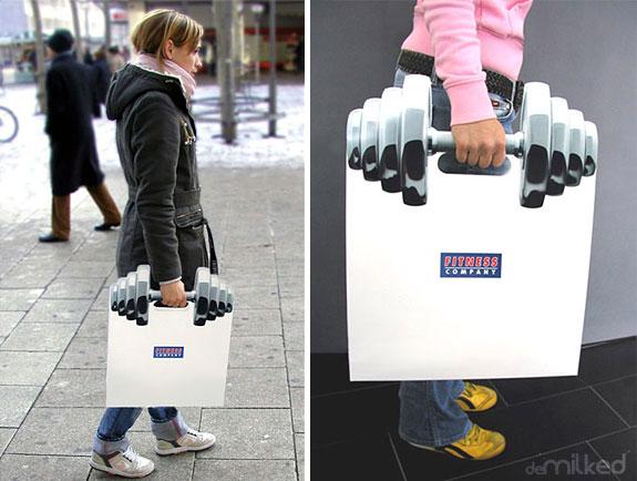 Fitness poşet torbası