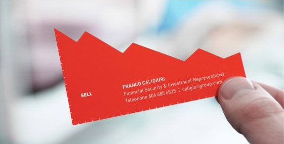 Chart Business Card
