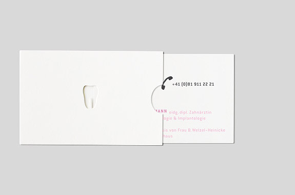 Business Card for a Dentist