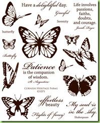 CHF Vintage Butterflies