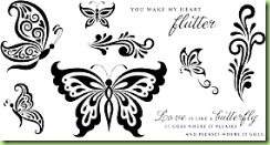 CTMH Butterfly Wings