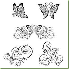 TAC Butterfly Swirls
