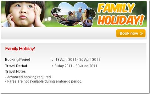 family Holiday - Airasia