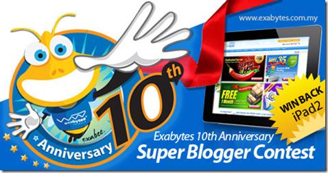 Super Blogger Contest