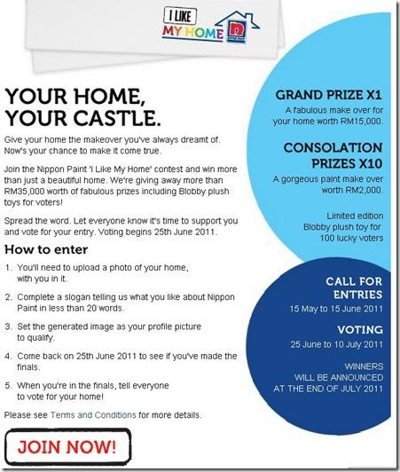 i like my home contest 2