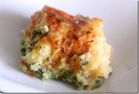 smoked fish gratin