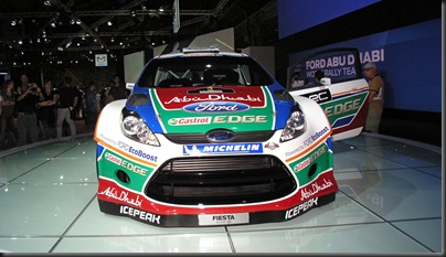Ford Fiesta RS WRC 2011